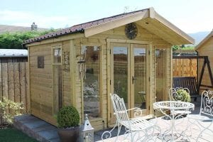 Wooden Summer House