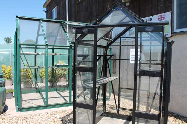 Green Houses and garden buildings at The Pot Place Plumpton Cumbria