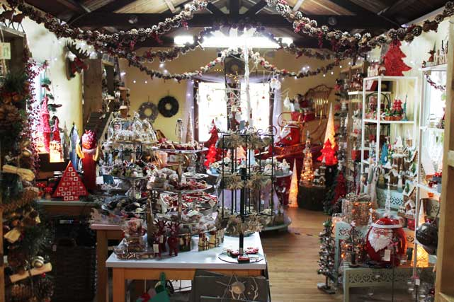 Christmas Gifts and Decorations at The Pot Place Garden Centre Plumpton Cumbria