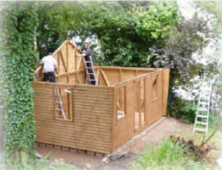 Sheds, Garden Rooms and more at The Pot Place Plumpton, Cumbria