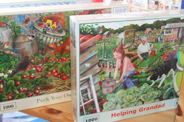 Cards and Gifts at The Pot Place Garden Centre Plumpton Cumbria