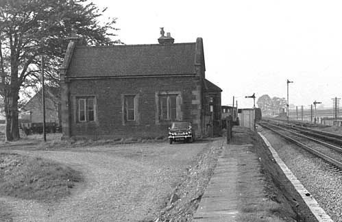 The old station at Plumpton