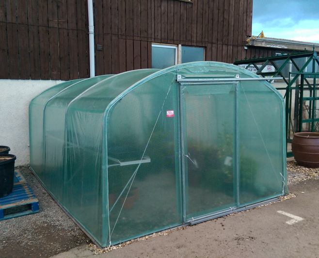 Polytunnels, The Pot Place Garden Centre, between Carlisle and Penrith