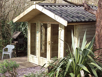 Sunrooms, Studios, Garden Rooms, Garden furniture and more at The Pot Place Plumpton, Cumbria