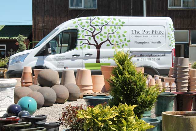 Huge range of Pots and Planters at The Pot Place Plumpton, Cumbria