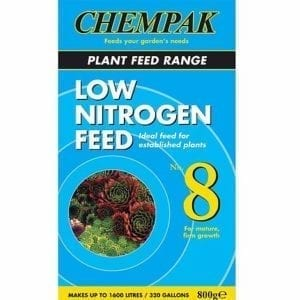 Chempak Low Nitrogen Feed No 8