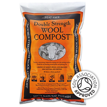 Dalefoot Double Strength Wool Compost
