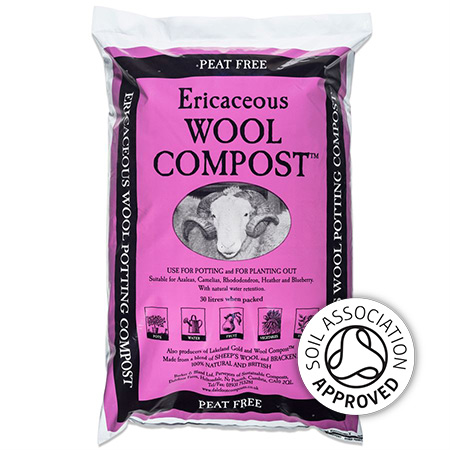 Dalefoot Ericaceous Wool Compost