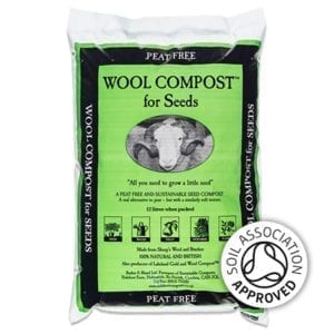 Dalefoot Wool Compost for Seeds