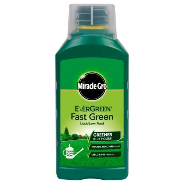 Miracle-Gro EverGreen Fast Green Liquid Lawn Food - 1 litre