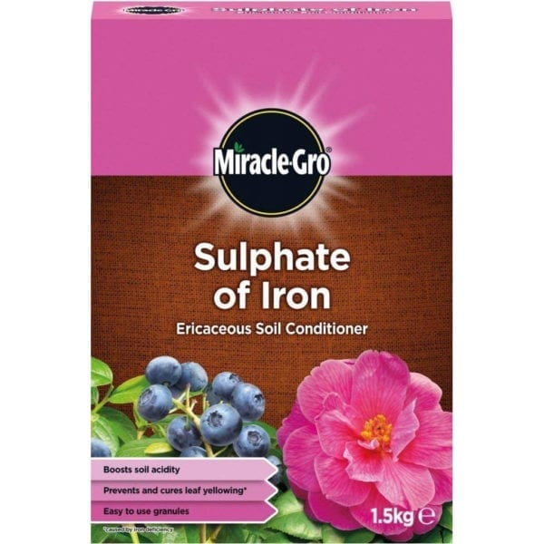 Miracle-Gro Sulphate of Iron Ericaceous Plant Food