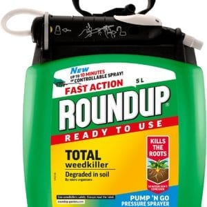 Roundup Total Weedkiller Pump'n'Go Pressure Sprayer