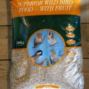 Superior Wild Bird Food - with Fruit