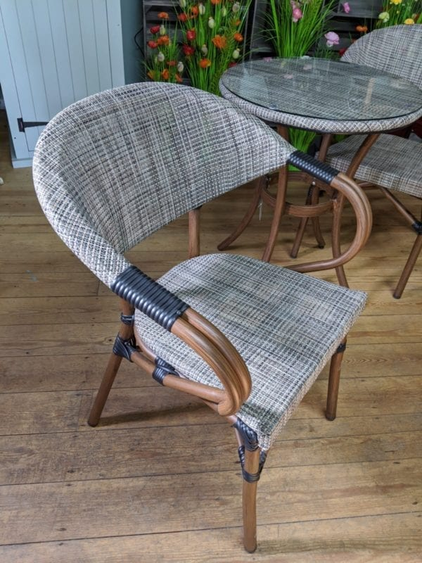 Two Seater Bistro Set - Chair