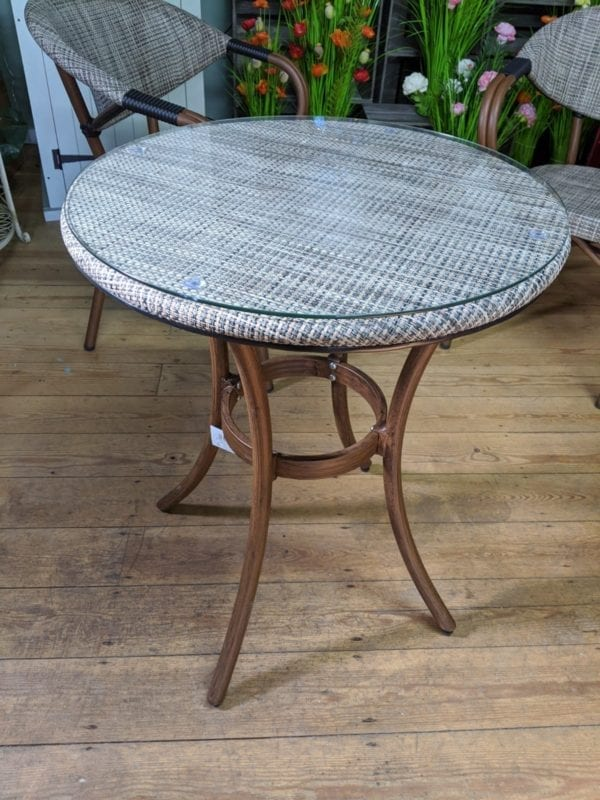 Two Seater Bistro Set - Table