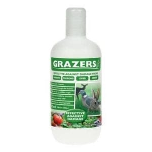 Grazers rabbit deterrent