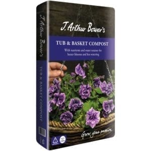 J.Arthur Bowers tub and basket compost