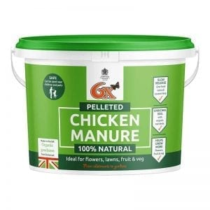 6X Pelleted Chicken Manure