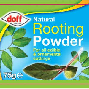 Doff Natural Rooting Powder - Label