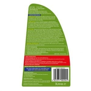 Resolva Lawn Weedkiller Extra Ready to Use - Label