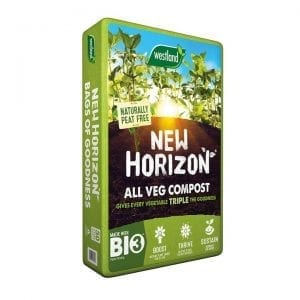 new horizon peat free all veg compost