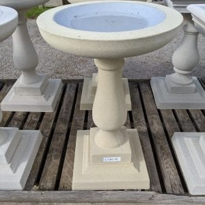 Birdbath bathstone circle