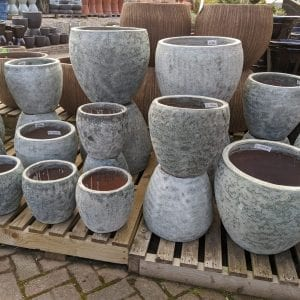 Grey Belly Planters